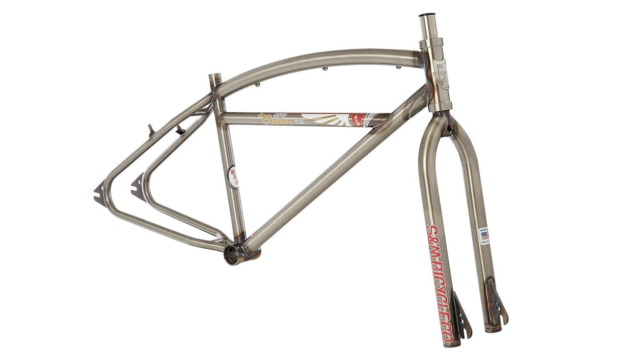S&M BMX Parts S&M Bikes Covid Cruiser Frame and Fork