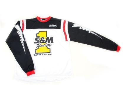 S&M BMX Racing S&M Retro Number 1 Race Jersey