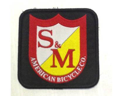 S&M Misc S&M Square Shield Patch