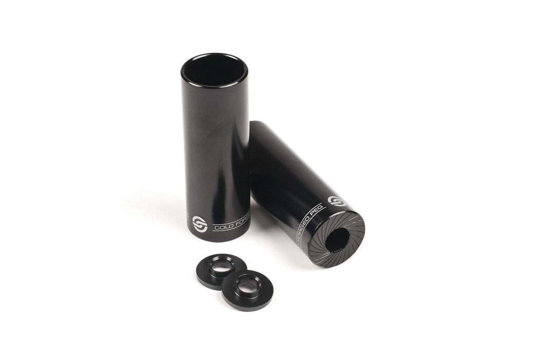 Salt BMX Parts Black Salt AM Steel Pegs