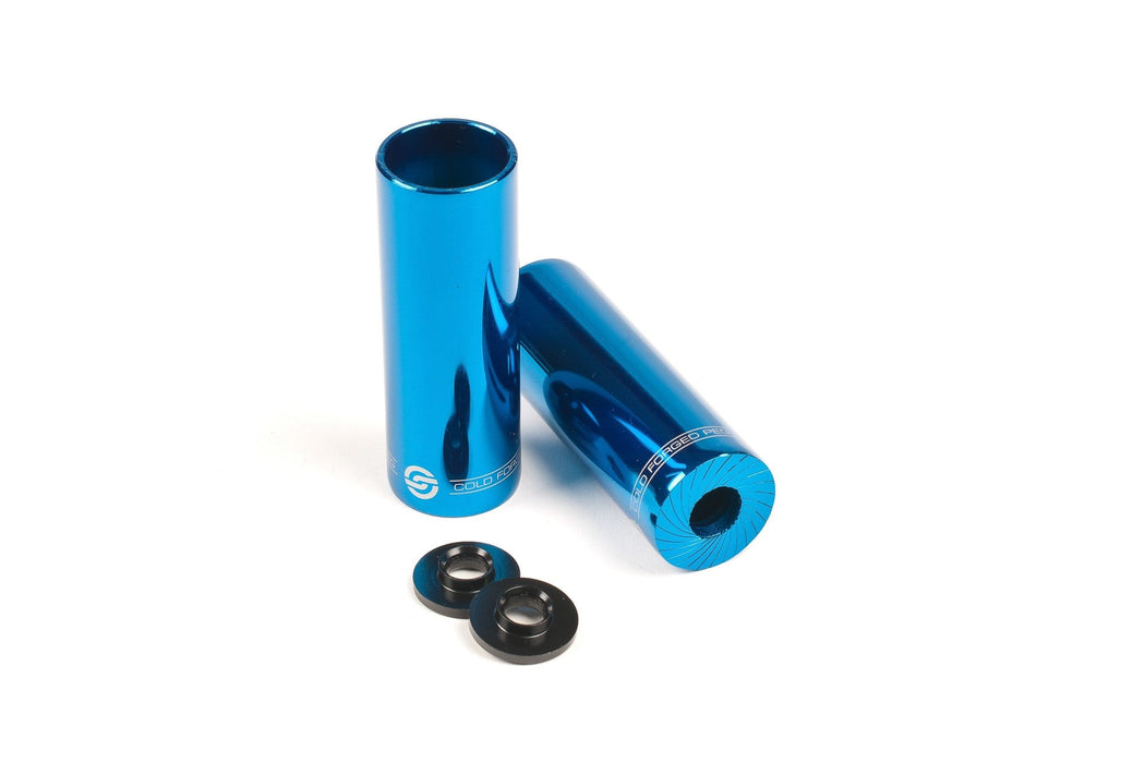 Salt BMX Parts Blue Salt AM Steel Pegs