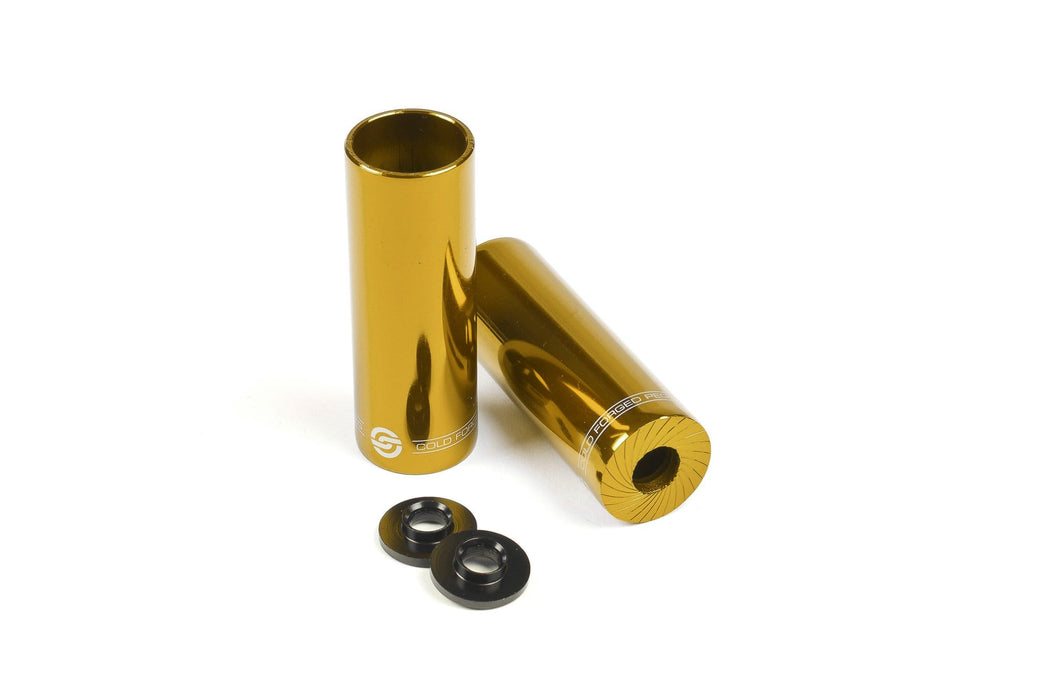 Salt BMX Parts Gold Salt AM Steel Pegs