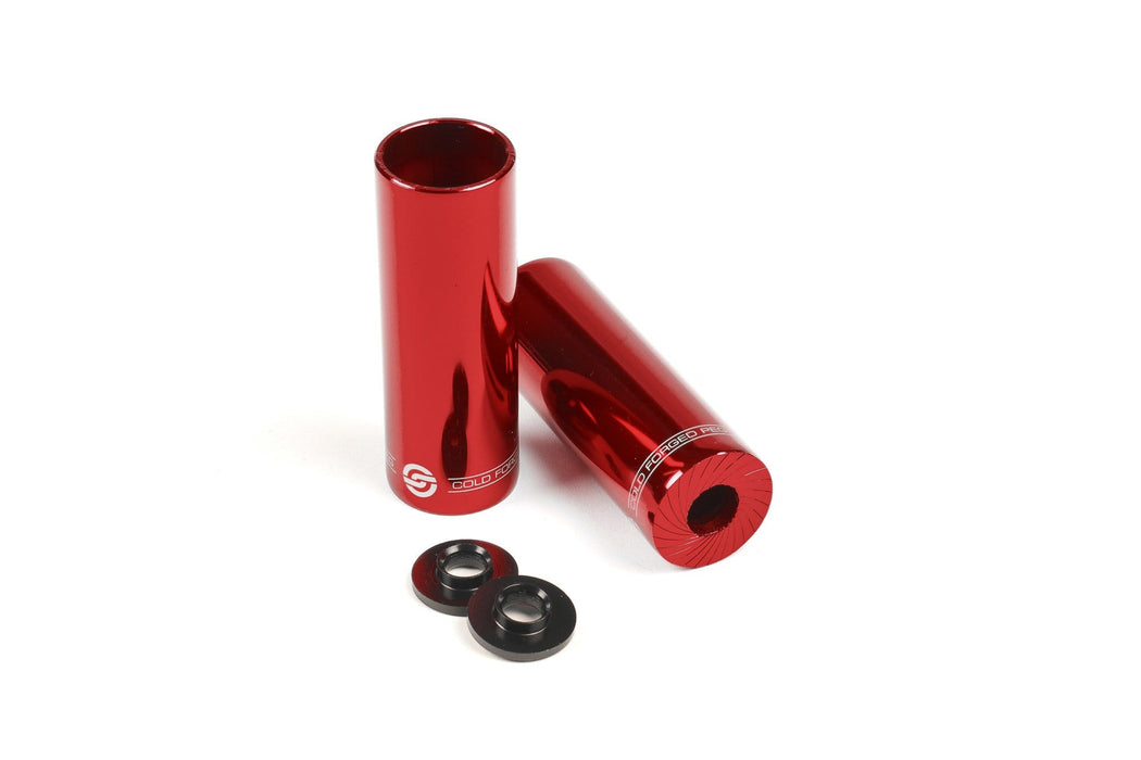 Salt BMX Parts Red Salt AM Steel Pegs