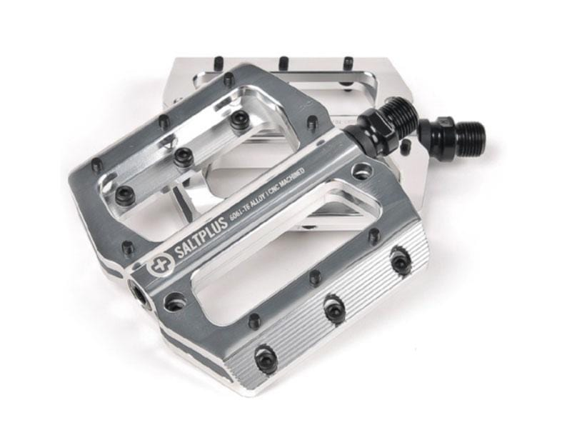 Salt Plus BMX Parts Chrome Salt Plus Echo Alloy CNC Pedals