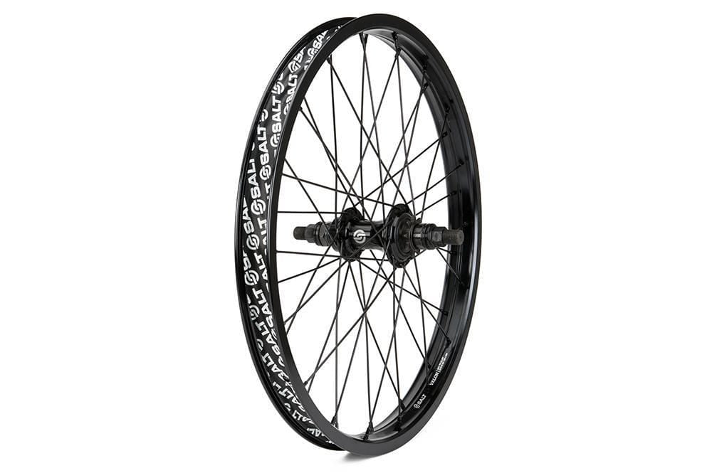 Salt BMX Parts Salt Rookie Cassette Rear Wheel 18 Inch 36H Black