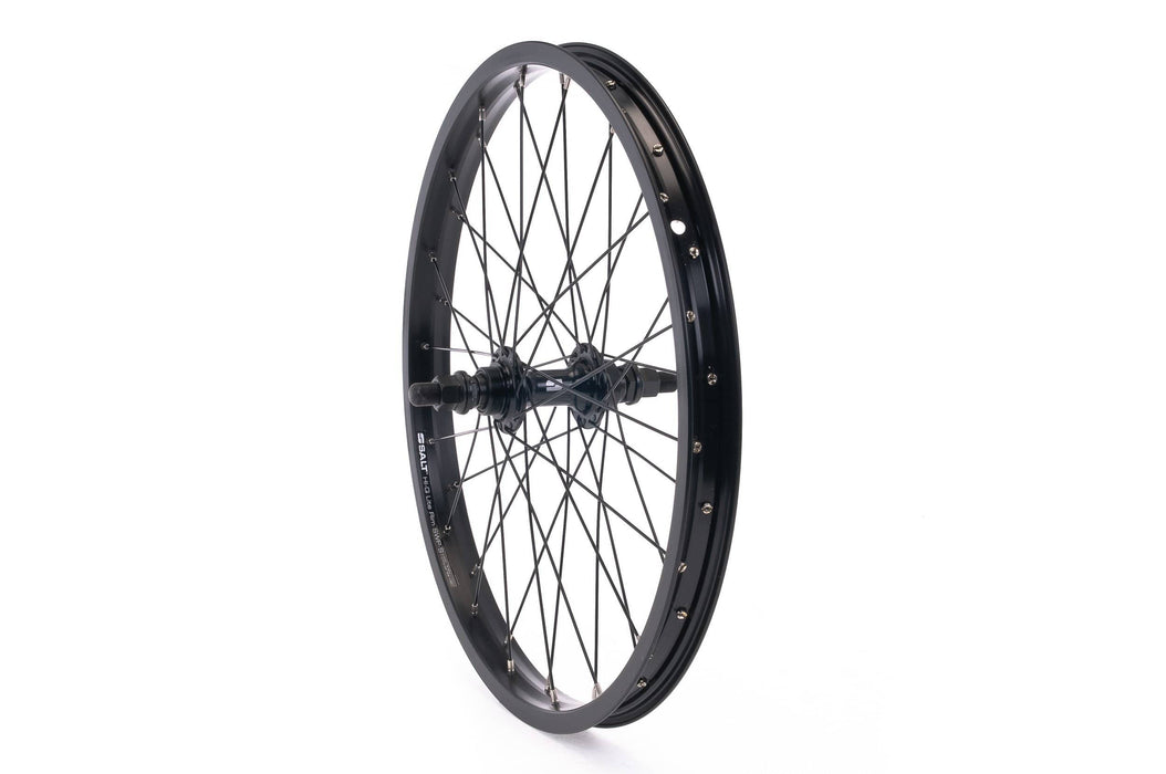 Salt BMX Parts Salt Rookie Freewheel Rear Wheel 18 Inch 28H Black