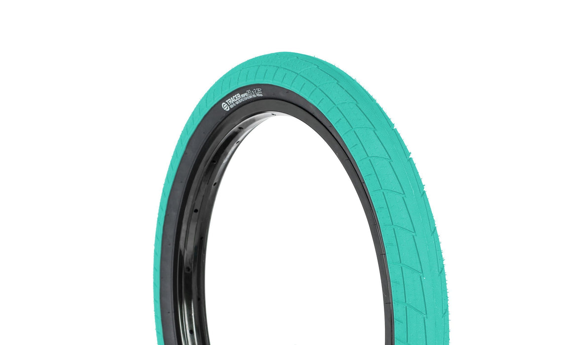 Salt BMX Parts Salt Tracer Tyre 16 x 2.20 Teal