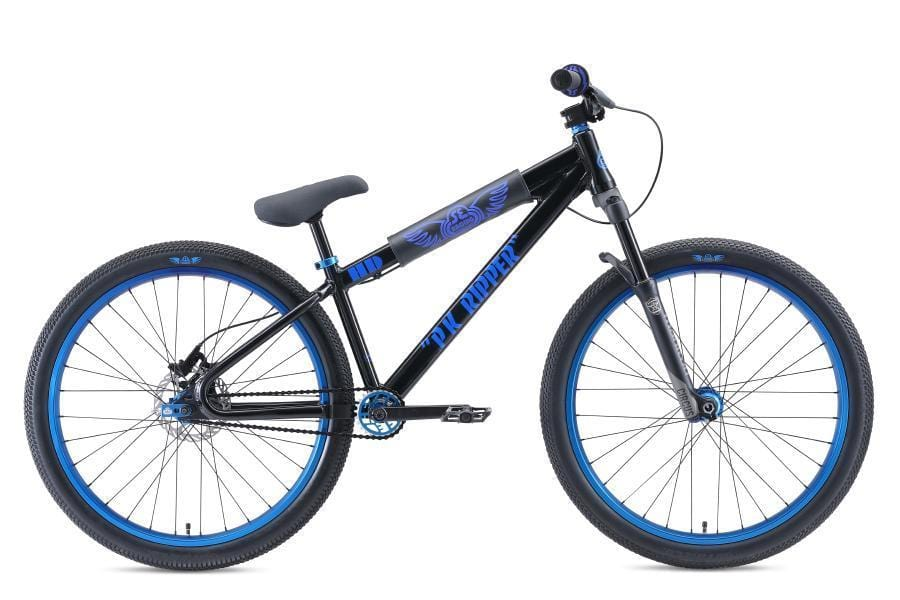 SE Bikes BMX Bikes SE Bikes 2019 DJ Ripper HD 26 Inch Bike Black/Blue