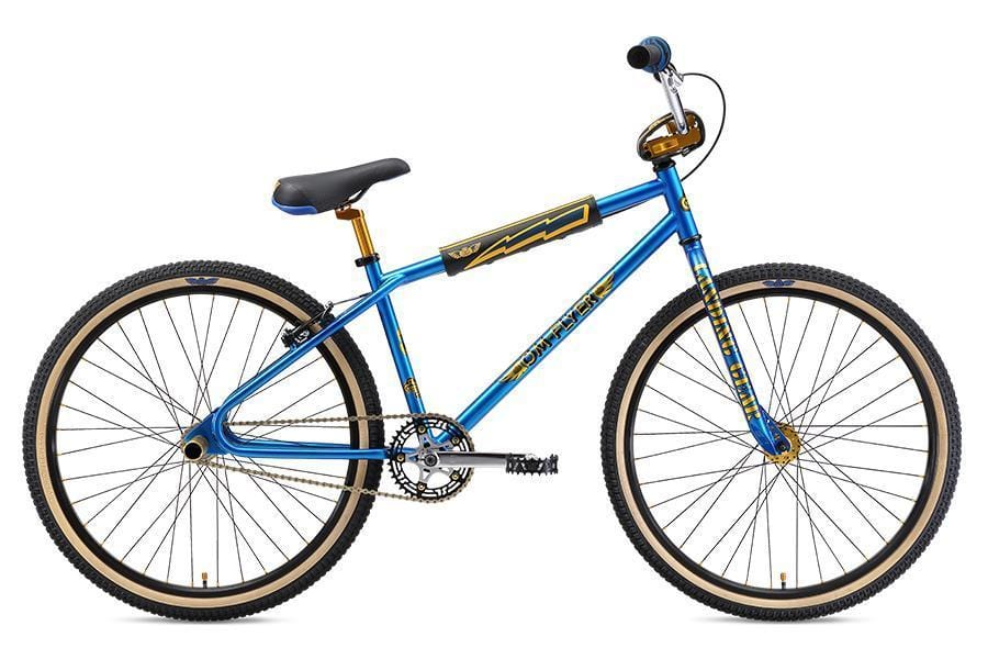 SE Bikes BMX Bikes SE Bikes 2019 OM Flyer 26 Inch Bike Electric Blue