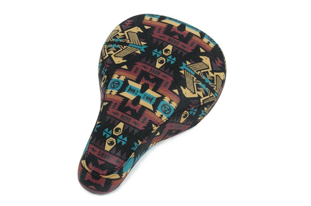 Shadow Conspiracy BMX Parts Shadow Conspiracy Penumbra Barraco S2 Tripod Seat Aztec Print