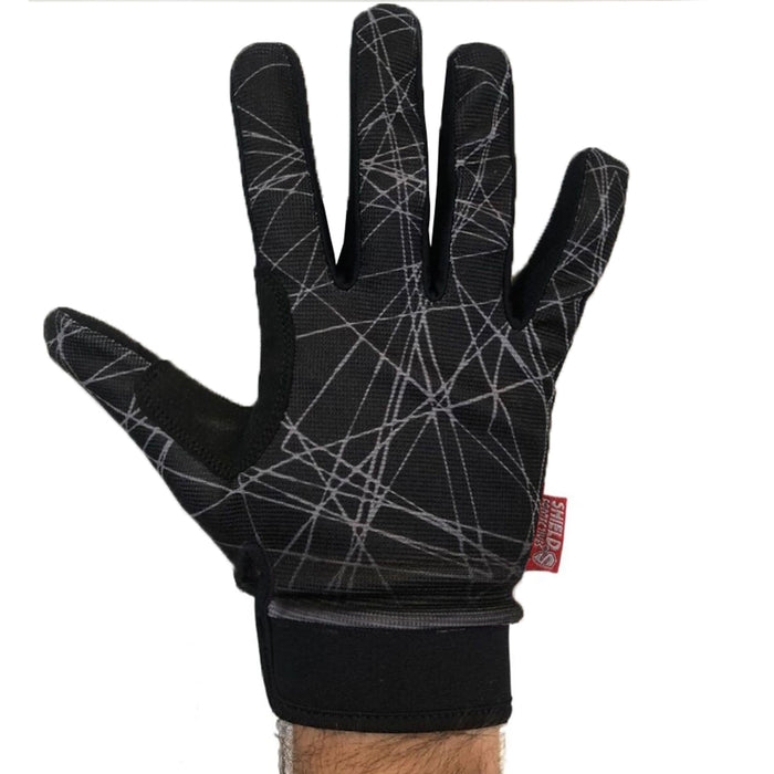 Shield Protection Shield Protectives Full Finger Gloves Black/Grey