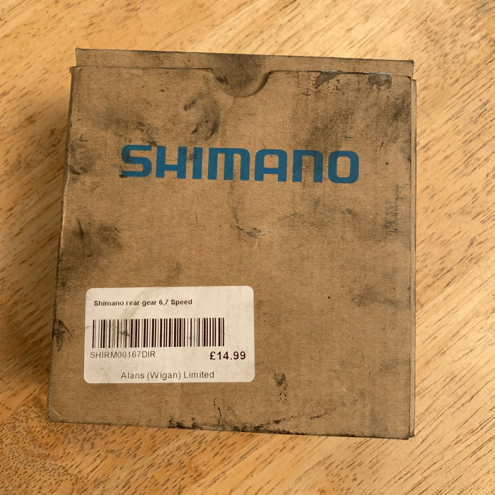 Shimano BMX Parts Shimano Tourney RD-FT30 Rear Derailler 6,7 Speed Direct Mount
