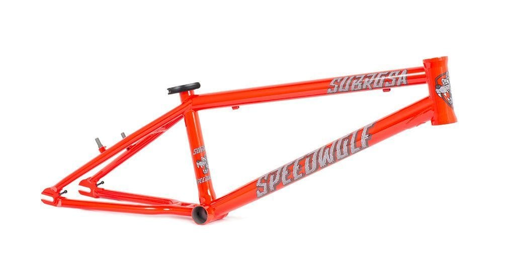 Subrosa BMX Racing Subrosa Speed Wolf Frame Fury Red