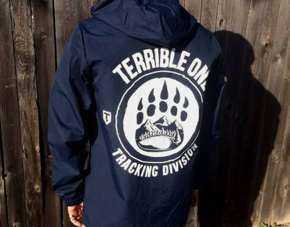 T1 Clothing & Shoes T1 Tracking Division Jacket Navy Blue