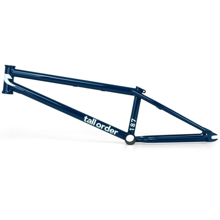 Tall Order BMX Parts 19.75 Tall Order 187 Frame Blue