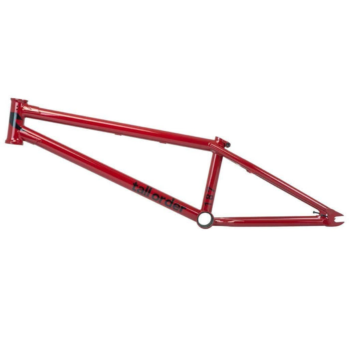 Tall Order BMX Parts Tall Order 187 V2 Frame Gloss Red