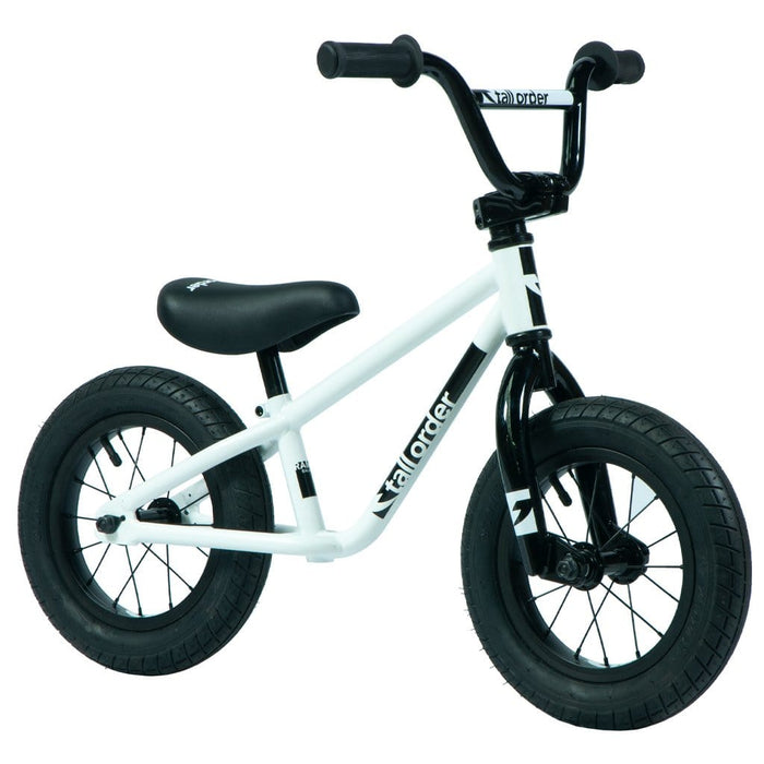 Tall Order BMX Bikes Tall Order 2021 Small Order Balance Bike Gloss White With Black Parts
