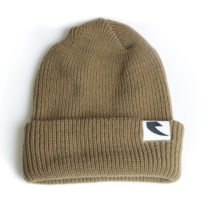 Tall Order Clothing & Shoes Tall Order Logo Beanie Tan