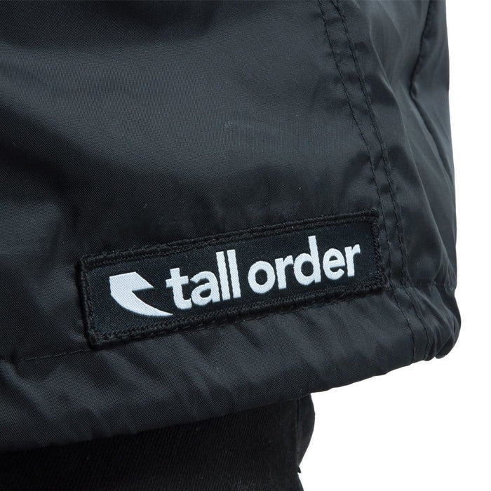 Tall Order Clothing & Shoes Tall Order Patch Logo Anorak Jacket Black