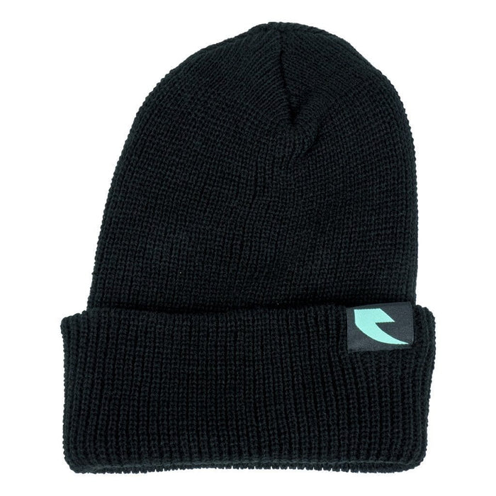 Tall Order Clothing & Shoes Tall Order Teal Logo Beanie Black