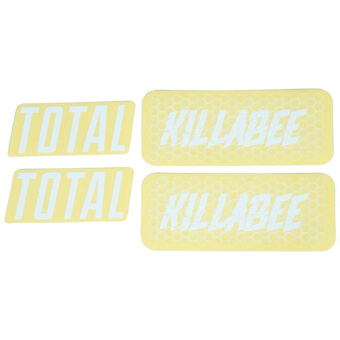 Total BMX BMX Parts Total BMX Killabee K4 Frame Stickers White