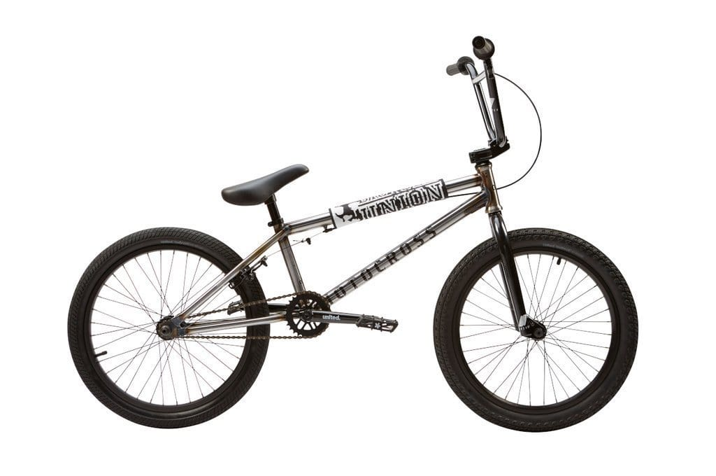 United BMX Bikes United 2020 Motocross Bike Gloss Raw