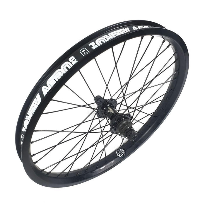 United BMX Parts United  Supreme / BSD Aero Custom LHD RHD Switchable Cassette Wheel Black