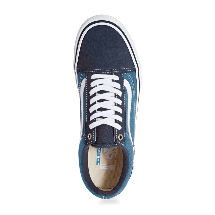 Vans Clothing & Shoes Vans Old Skool Pro Shoes Navy/STV Navy/White