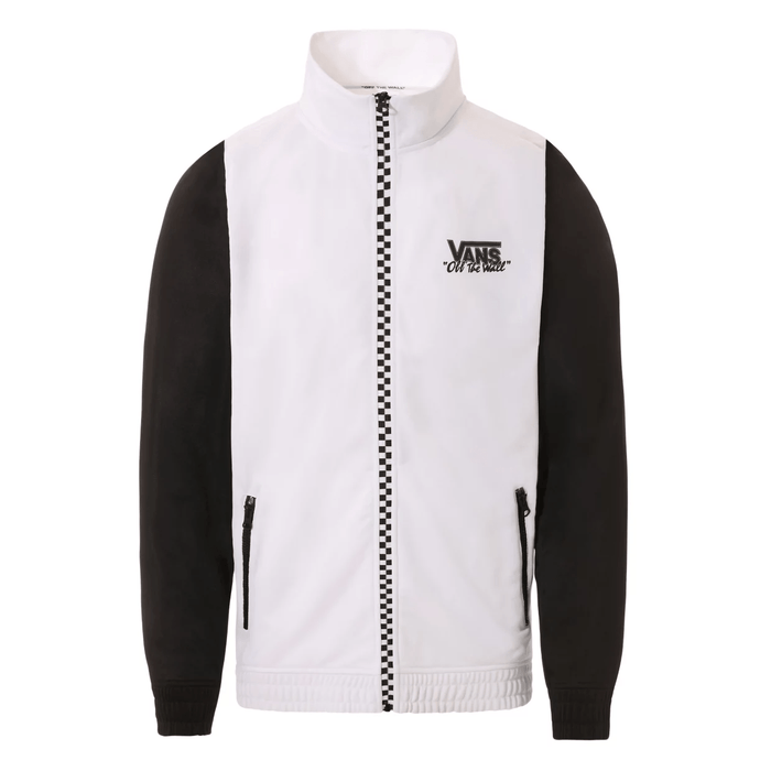 Vans Clothing & Shoes Vans Winner's Circle Track Zip Jacket Black/White