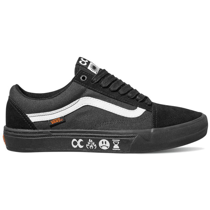 Vans Clothing & Shoes Vans x Cult Old Skool BMX Pro Shoes Black/Black