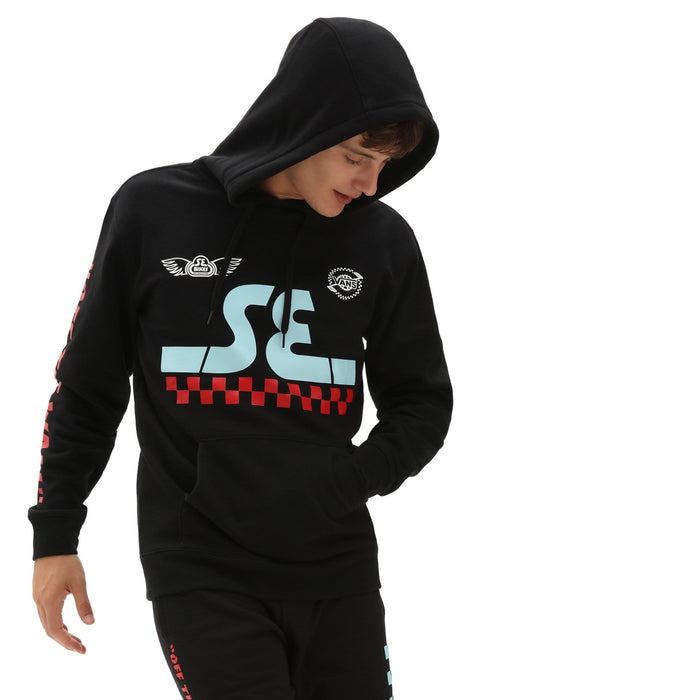 Vans Clothing & Shoes Vans X SE Bikes Hooded Sweatshirt Black
