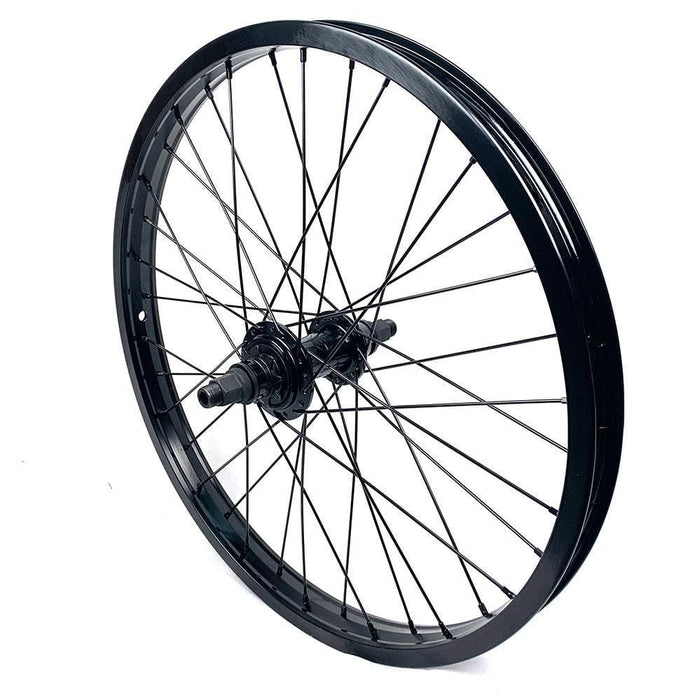 Vocal BMX Parts Vocal Hitchhiker / Alienation Black Sheep Switchable Cassette Freecoaster Rear Wheel Black