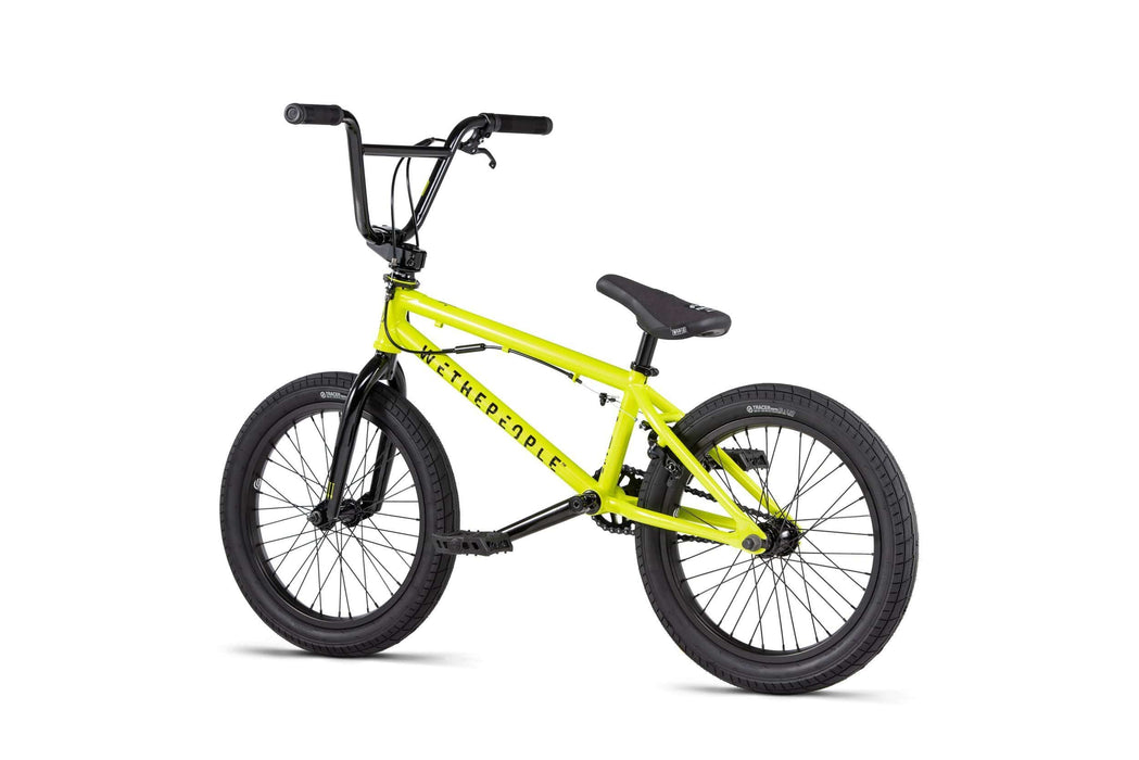 We The People BMX Bikes We The People 2020 CRS FS 18 Inch BMX Metallic Yellow