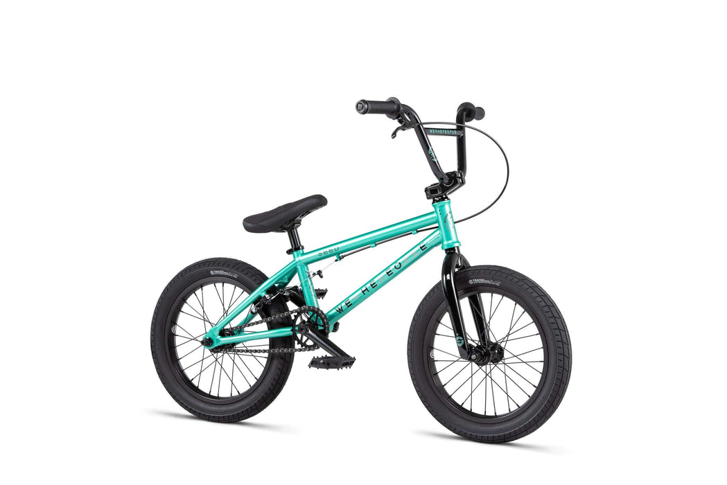 We The People BMX Bikes We The People 2020 Seed 16 Inch BMX Metallic Green