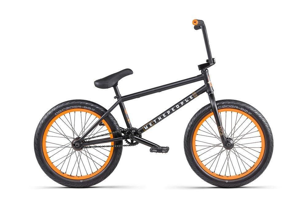 We The People BMX Bikes We The People 2020 Trust FC BMX Matt Black 20.75TT