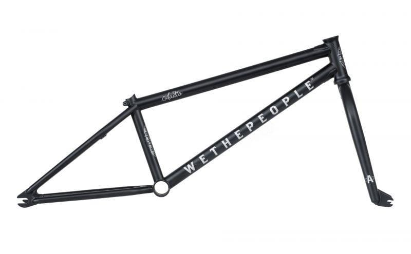 We The People BMX Parts We The People Audio 22 Inch Frame Forks Set Matt Black
