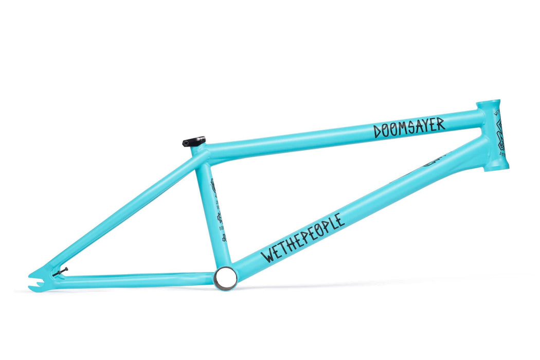 We The People BMX Parts We The People Doomsayer Frame Matt Pastel Blue