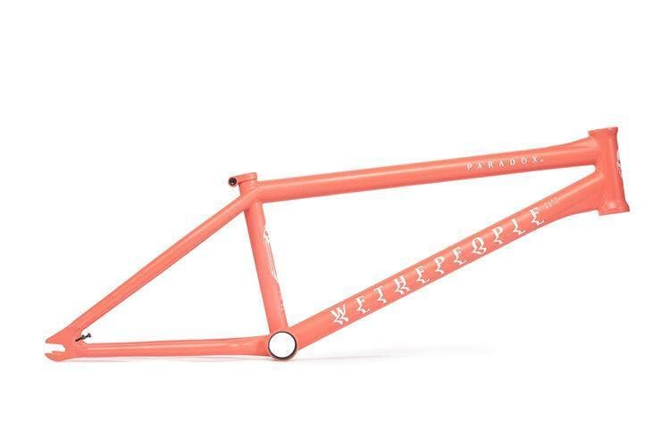 We The People BMX Parts We The People Paradox Frame Coral Red