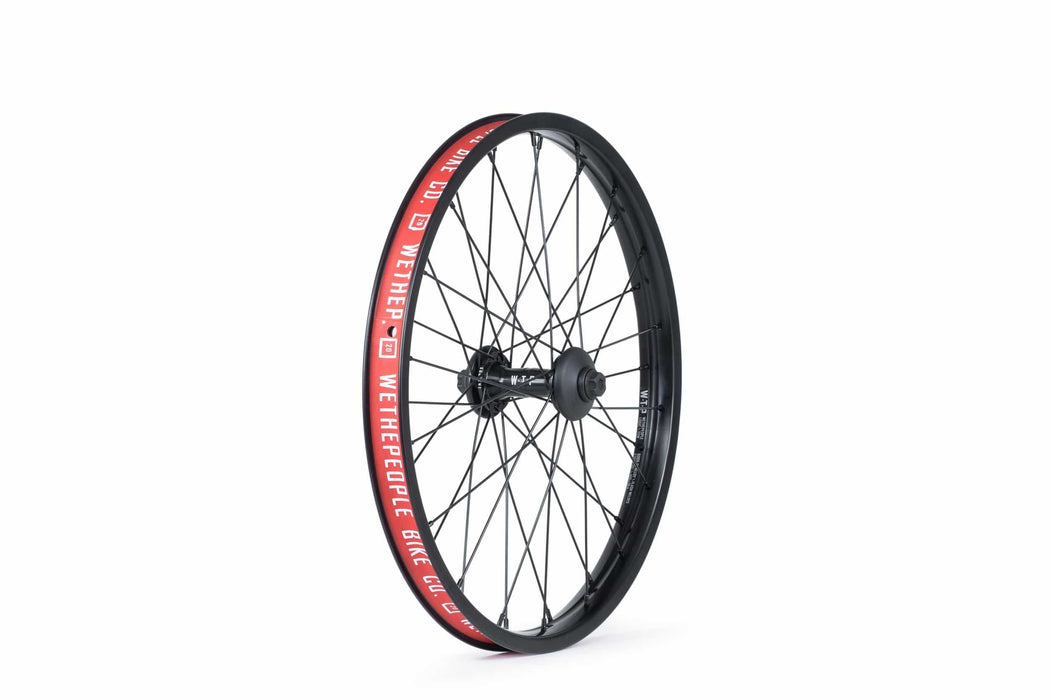 We The People BMX Parts We The People Supreme Front Wheel Black