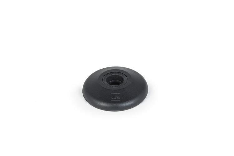 We The People BMX Parts We The People Supreme Hub Guard Nylon Black