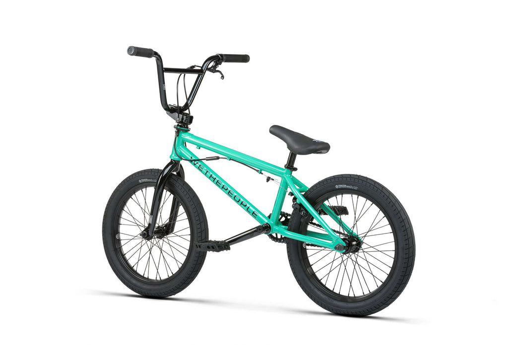 WeThePeople BMX Bikes WeThePeople 2021 CRS 18 Inch Bike FS Metallic Soda Green
