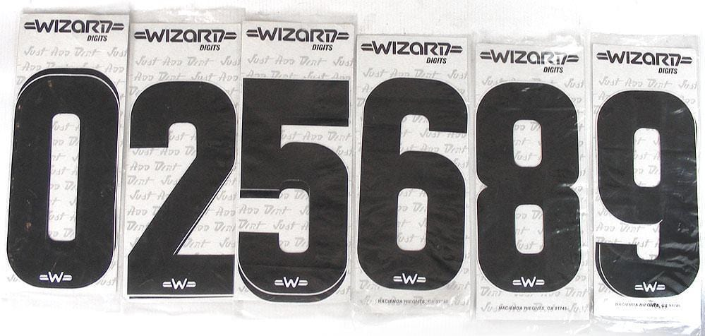 Wizard Old School BMX Wizard Digit Black