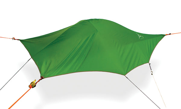 Forest Green Tentsile Flite+ backpacking hammock tent.