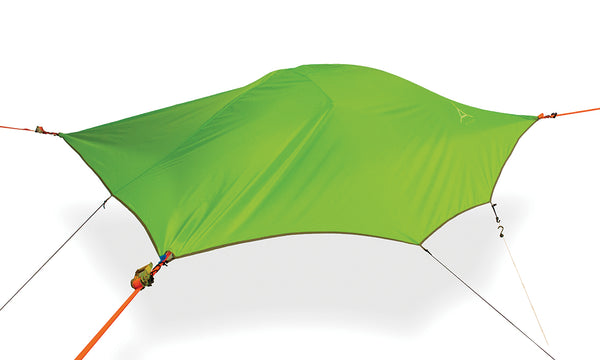 Fresh Green Tentsile Flite+ backpacking hammock tent.