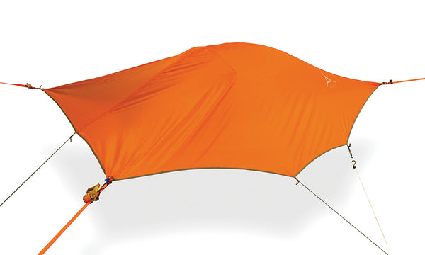 Orange Tentsile Flite+ backpacking hammock tent.