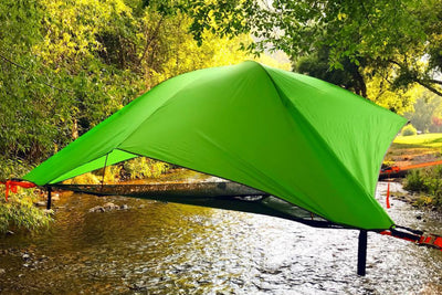 Vista 3-Person Modular Suspended Tent with Forest Green Rainfly