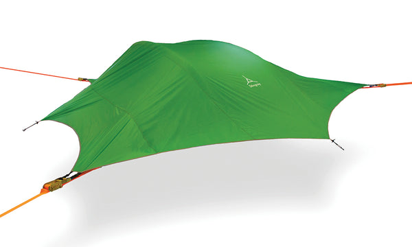 Forest Green Tentsile Stingray tree tent hammock.