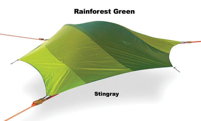 Spare Rainforest Green Rainfly for Stingray 3-Person Tree Tent