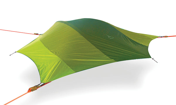 Rainforest Green Tentsile Stingray tree tent hammock.