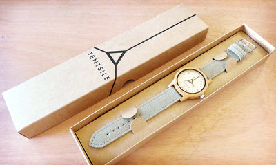 Tentsile Wooden Analogue Watch